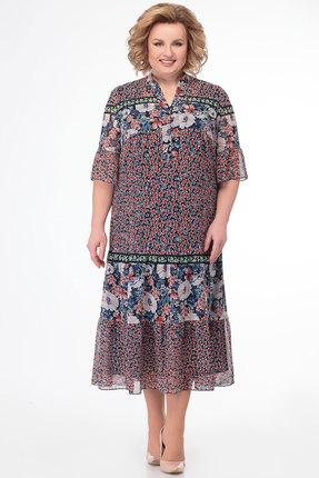 Платье KetisBel 1504 мультиколор