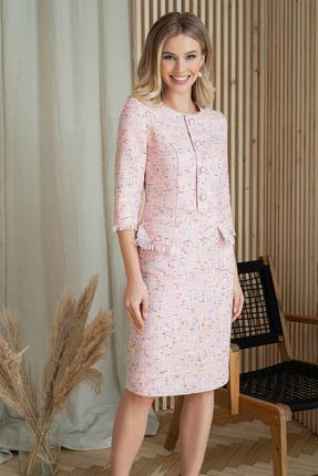 Платье ЮРС 20-918-5 нежно-розовый фото