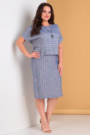 Платье Moda-Versal 2014 голубой фото