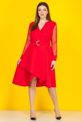 Платье B&F 2052 красный