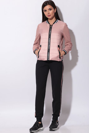 Спортивный костюм Bonna Image 457.1 розовый+чёрный фото