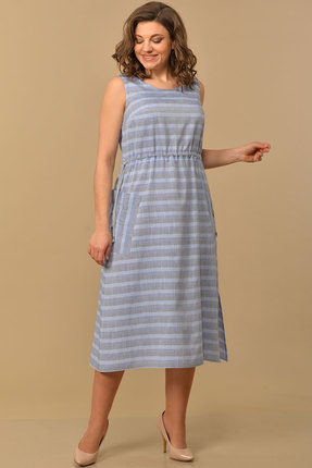 Платье Lady Style Classic 1868/1 лавандовый