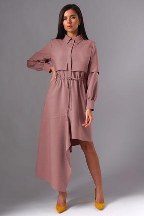 Платье Миа Мода 1137-1 лиловый