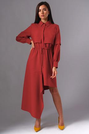 Платье Миа Мода 1137-3 красный