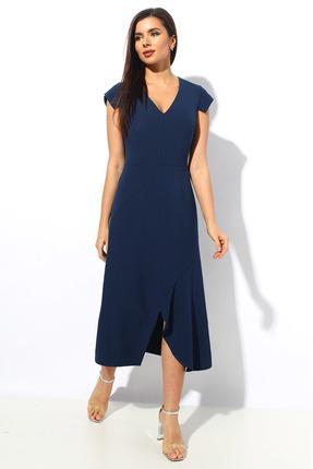Платье Миа Мода 1140 темно-синий фото