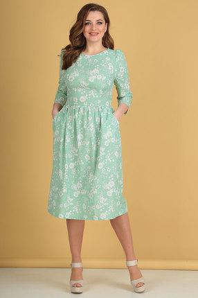 Платье Flovia 4031 мятный фото