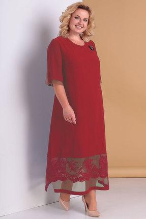 Платье Algranda 3301 бордо