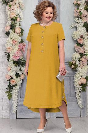 Платье Ninele 5773 горчица фото