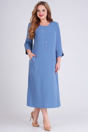 Платье Ксения Стиль 1770 синий