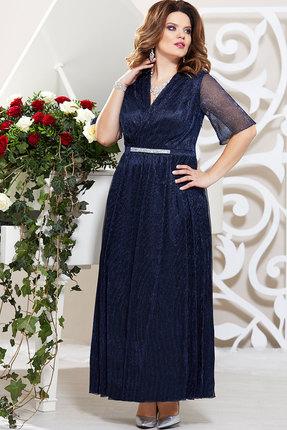 Платье Mira Fashion 4778 тёмно-синий