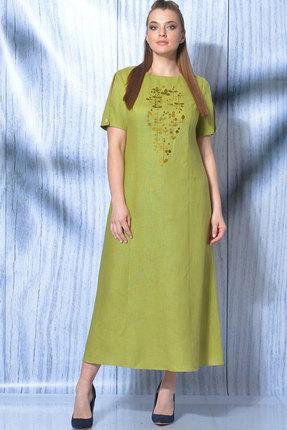 Платье MALI 419-012 яблоко фото