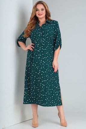 Платье Vasalale 668 зеленый