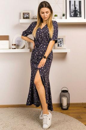 Платье Mirolia 769 синий