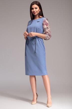 Платье Gizart 7299г голубой