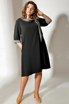 Платье Anna Majewska А314 черный фото