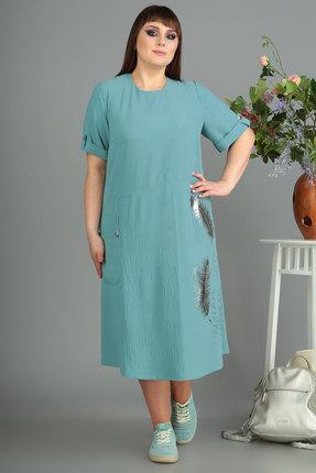 Платье Algranda 3445с голубые тона фото