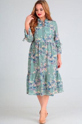 Платье Асолия 2474 светлые тона