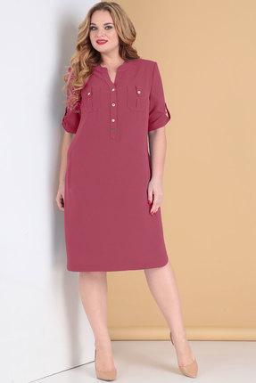 Платье Тэнси 284 бордо