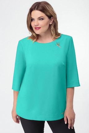 Блузка Дали 3152 мята фото