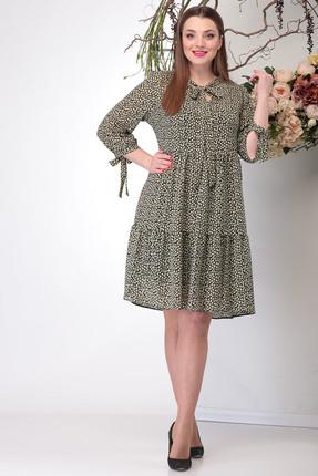 Платье Michel Chic 987 бежевые тона