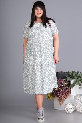 Платье Algranda 3516 светло-серые тона