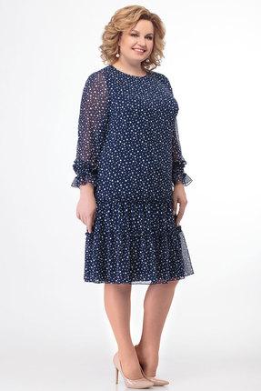 Платье KetisBel 1505 синий фото