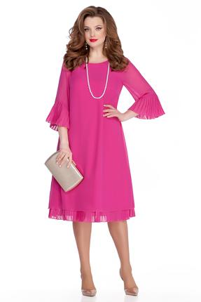 Платье TEZA 250 розовые тона фото
