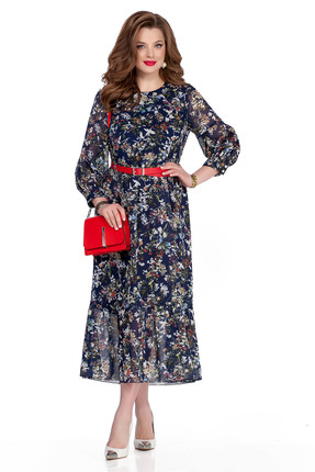 Платье TEZA 635 синий фото