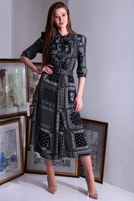 Платье Axxa 55122в синий