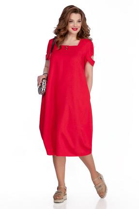 Платье TEZA 724 красный фото