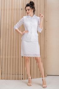 Комплект юбочный ЮРС 20-310-1 бело-молочный
