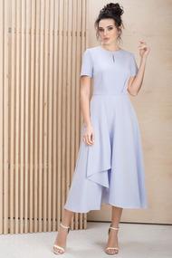 Платье ЮРС 20-315-1 голубые тона
