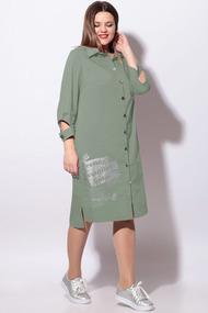 Платье LeNata 11119 светло-зеленый