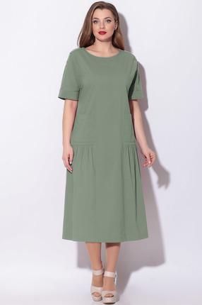 Платье LeNata 11121 светло-зеленый