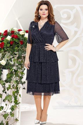 Платье Mira Fashion 4786-3 тёмно-синий