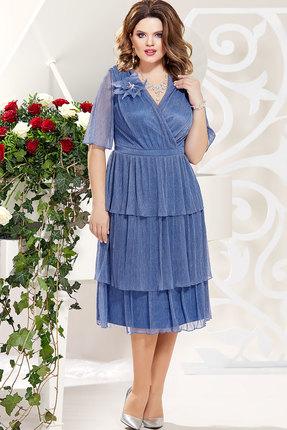 Платье Mira Fashion 4786-2 василёк