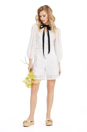 Комплект с шортами PIRS 1018 белый