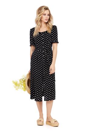 Платье PIRS 1015 черный