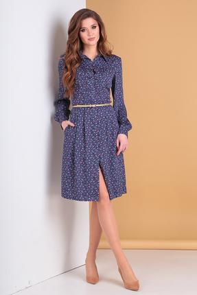 Платье Moda-Versal 2147 синий фото