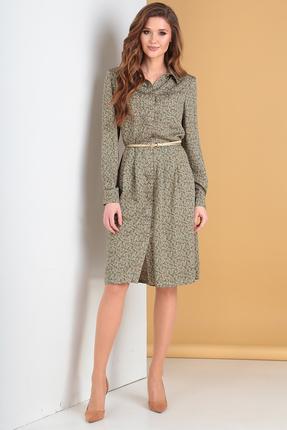 Платье Moda-Versal 2147 зеленые тона