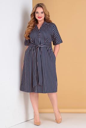 Платье Moda-Versal 2194 синий