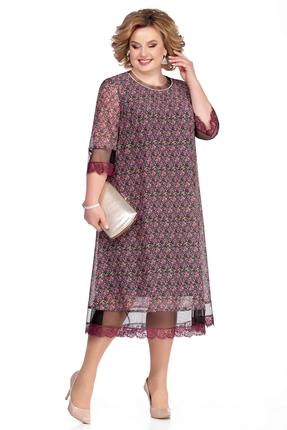 Платье Pretty 1031 розовые тона