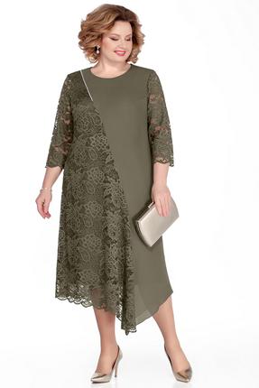 Платье Pretty 1035 зеленый