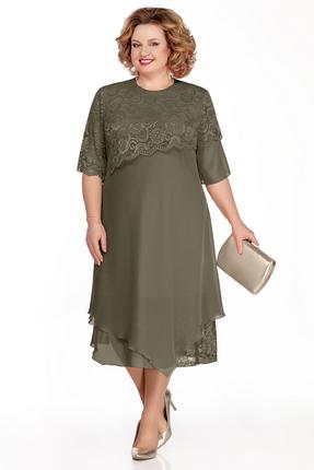 Платье Pretty 1036 зеленый