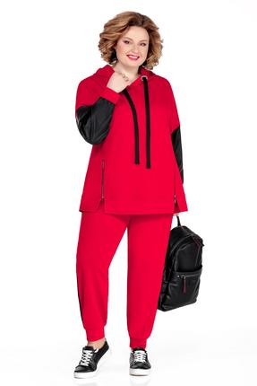 Спортивный костюм Pretty 1047 красный фото