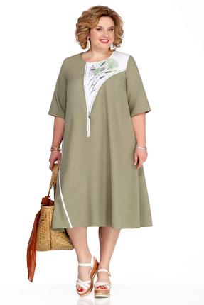 Платье Pretty 1054 зеленый