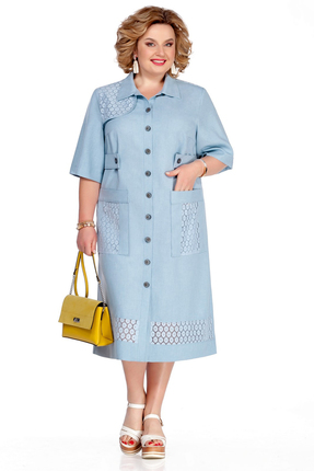 Платье Pretty 1072 голубой фото