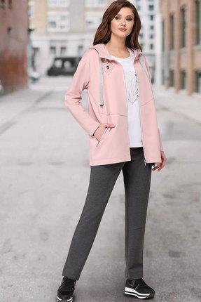 Спортивный костюм ТАиЕР 850 розовый+серый фото