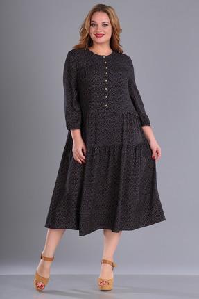 Платье FoxyFox 194 черные тона