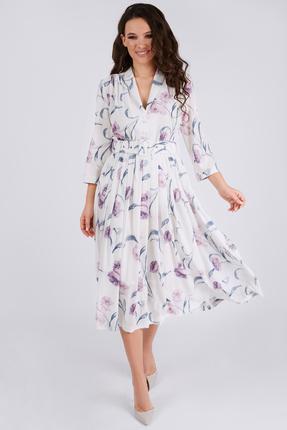 Платье Teffi style 1425/1 лавандовый